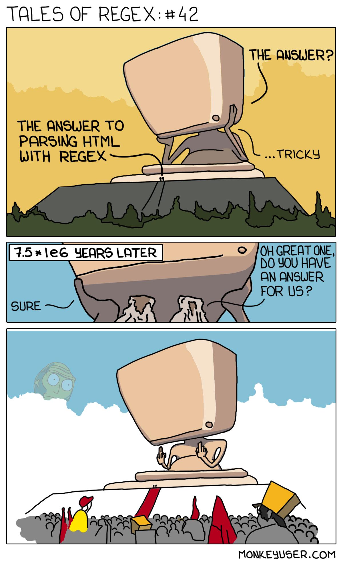 Tales of RegEx: #42