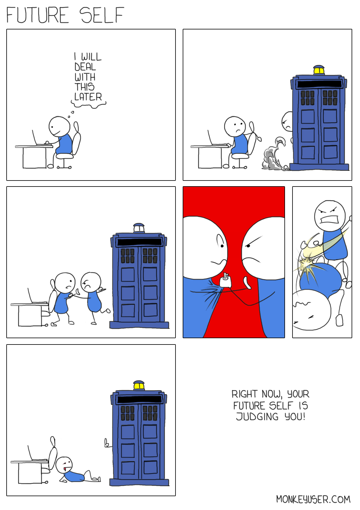 Be careful with that last commit. Time travel might be just around the corner