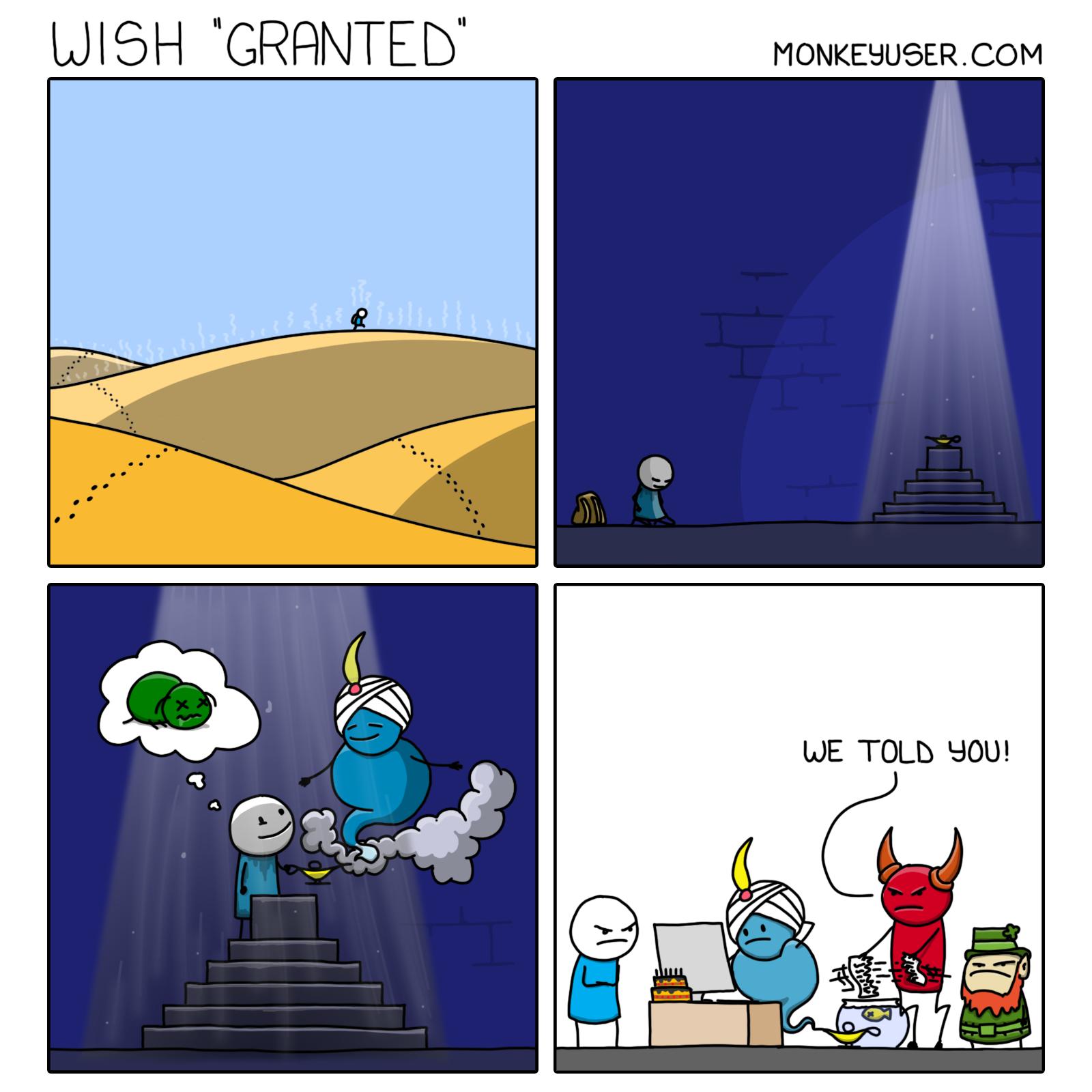 Wish 'Granted'